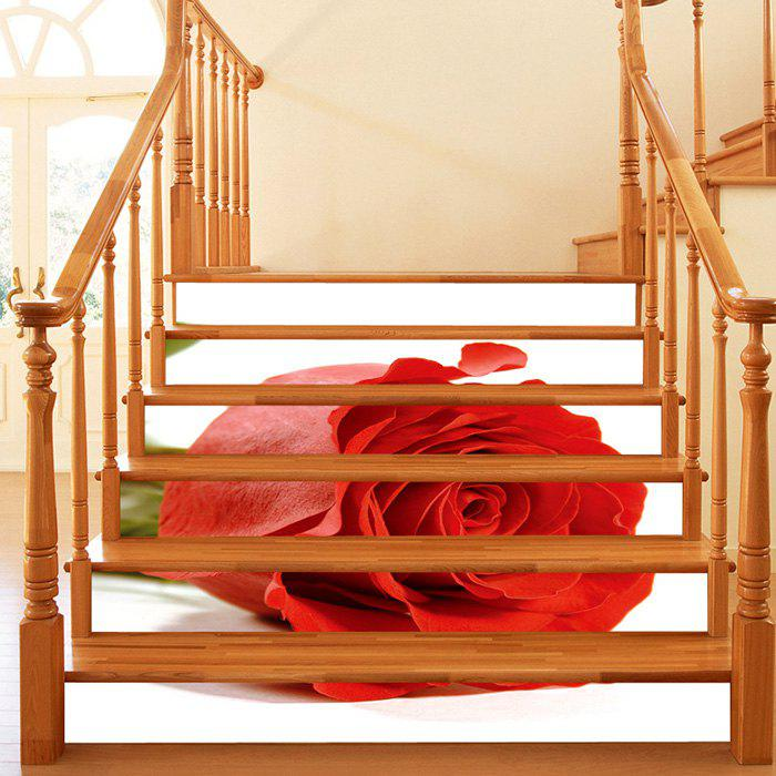 White Stairs Sticker Removable Decals For Kids Room Home Decoration Mural Simulation 3d Floor Pvc Waterproof Stairs Sticker Wall Stickers Home & Garden