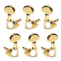 GC203K Full Sealed 3L3R Guitar Machine Heads Tuners Tuning Pegs -