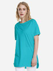 T-shirt ourlet dauphin -
