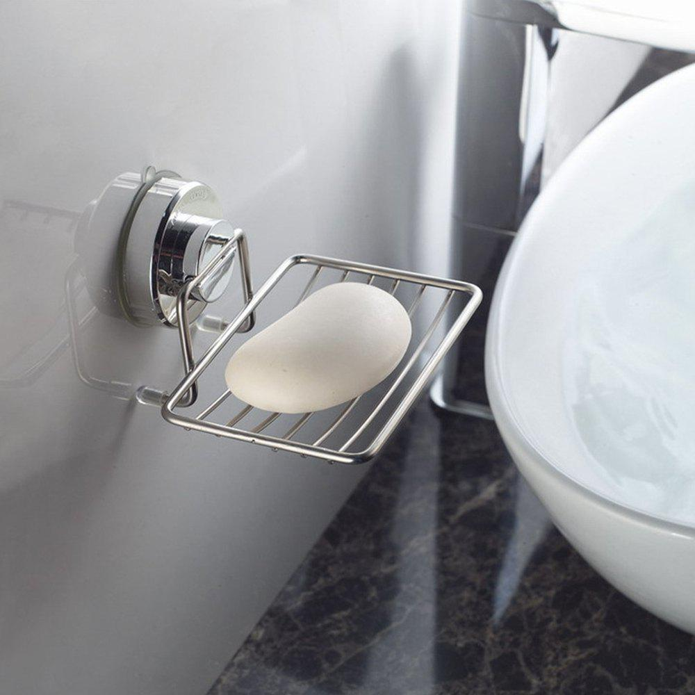 Discount Non Perforated Suction Cup Soap Rack