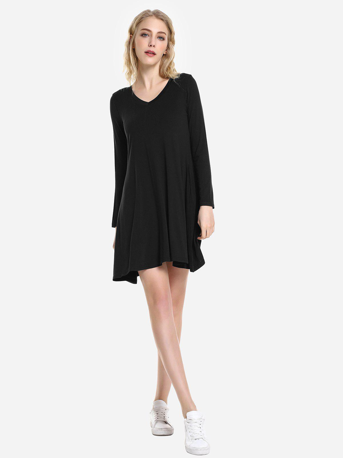 Sale ZAN.STYLE V Neck Dress