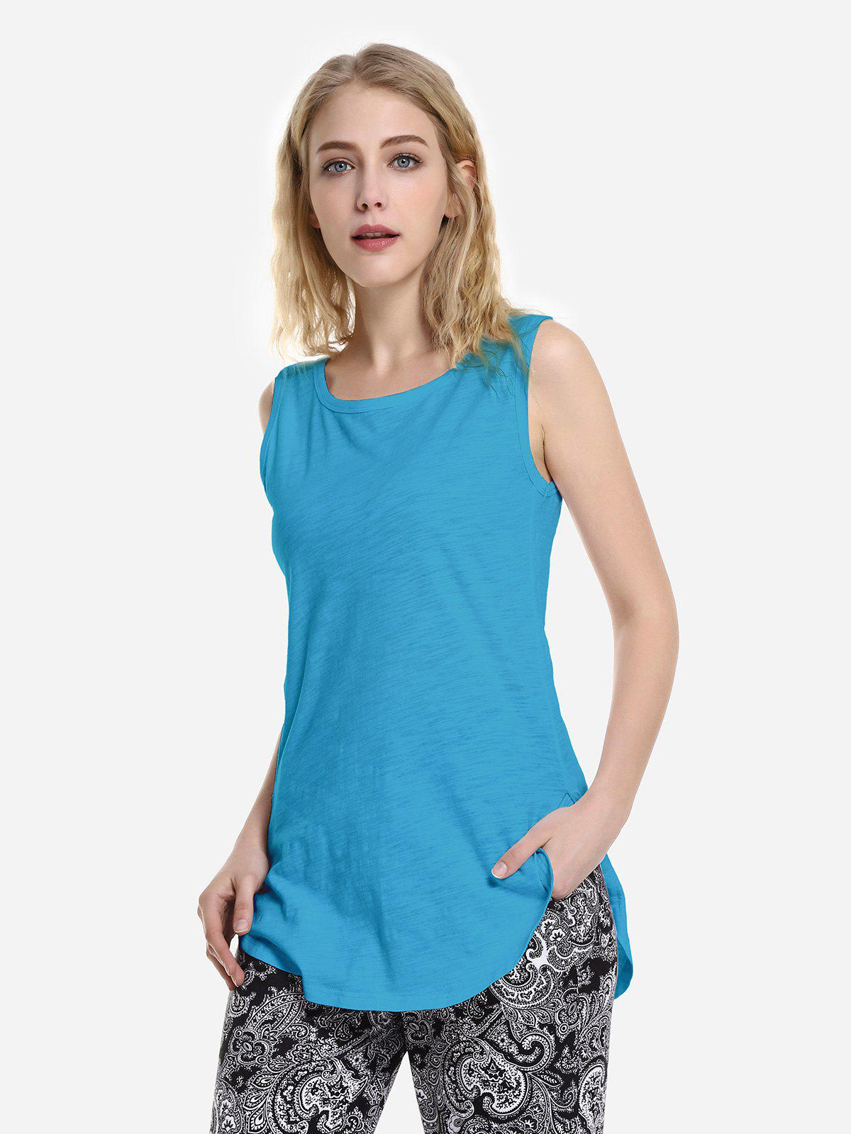 Outfit Round Neck Tank Top