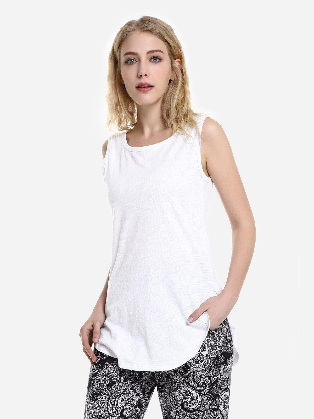 Outfits Round Neck Tank Top