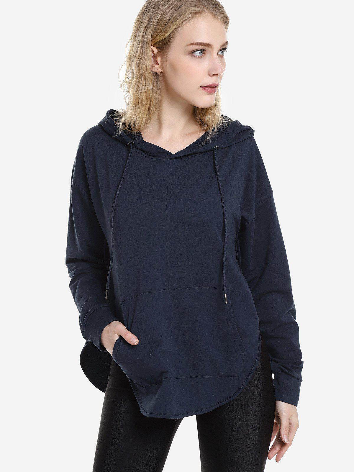 Outfit Open Back Hoodie