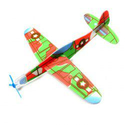Foam Hand-throwing Convolutional Glider Airplane Model Toy -