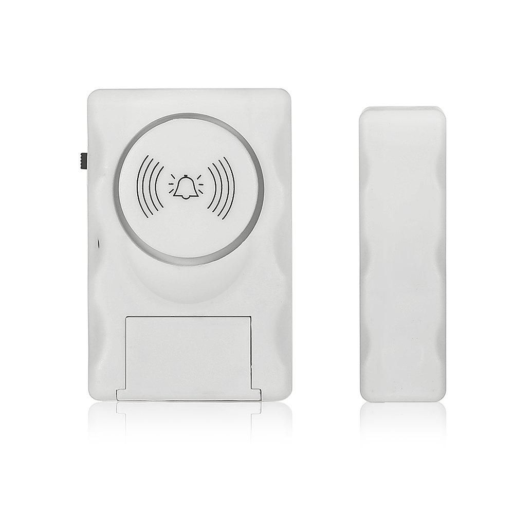 Fancy K05 Wireless Security Chime Magnetic Alarm Sensor Voice Alarming Home Window Door Entry