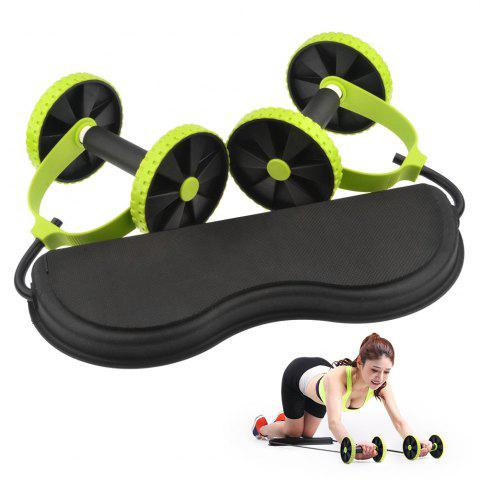 Unique Body Wheel Roller Mute Tension Rope Multifunctional Slimming Abdomen Fixing