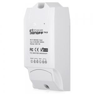 SONOFF TH10 Temperature and Humidity Monitoring WiFi Smart Switch for Home Automation System -