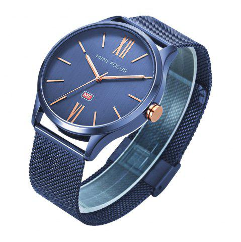 Online MINI FOCUS Mf0018G 4316 Fashion Steel Band Men Watch