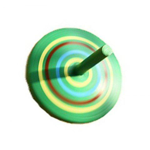 New Wooden Spinning Top Gyro Children Traditional Child Classic Desktop Toy