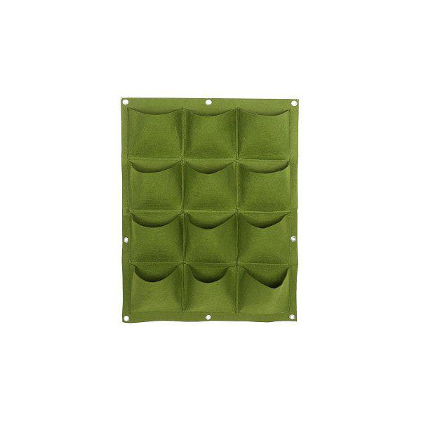 Store Practical Felt Stereoscopic Wall Hanging Pocket Planting Bag