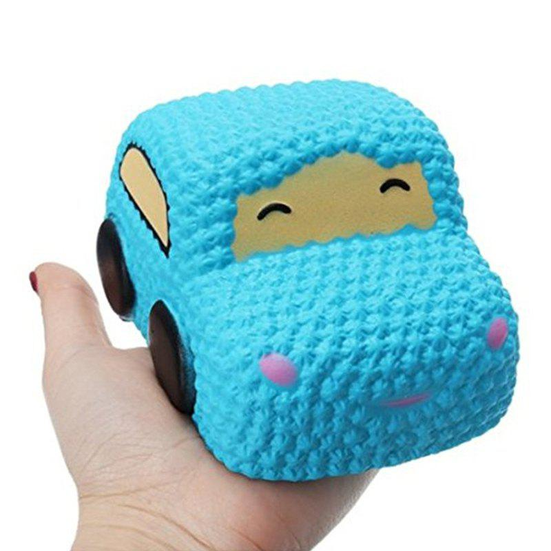 Store Car Cake Jumbo Squishy Slow Rising Cartoon Doll Squeeze Toy Collectibles