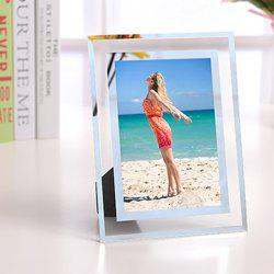 144 Crystal Photo Frame Tabletop Picture Display Stand for Home Decoration -