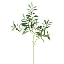 Artificial Olive Branch Plants Home Garden Office Wedding Decor 1pc -