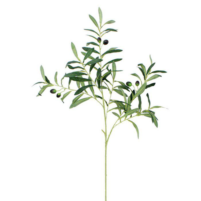Outfit Artificial Olive Branch Plants Home Garden Office Wedding Decor 1pc