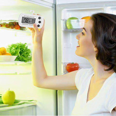 New Kitchen Refrigerator Digital LCD Display Waterproof Thermometer with Hanging Hook