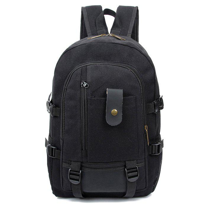 Online Trendy Outdoor Large Capacity Canvas Backpack for Men
