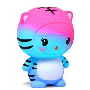 Jumbo Squishy Slow Rebound Toy Tiger -