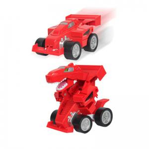 Creative One Button Transformation Robot Beast Car Toy for Kids -