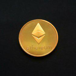 Ethereum Commemorative Coin Virtual Currency Collection Souvenir Gift Toy 1pc -