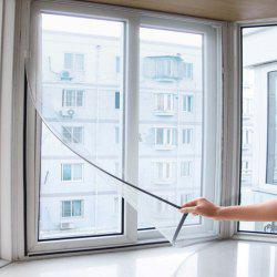 Home Insect Mosquito Self-adhesive Window Mesh Door Curtain -