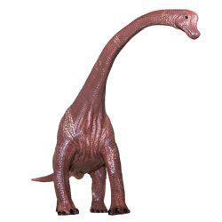 Dinosaur Model Toy Brachiosaurus PVC Solid Animal Model Desk Ornament 1pc -