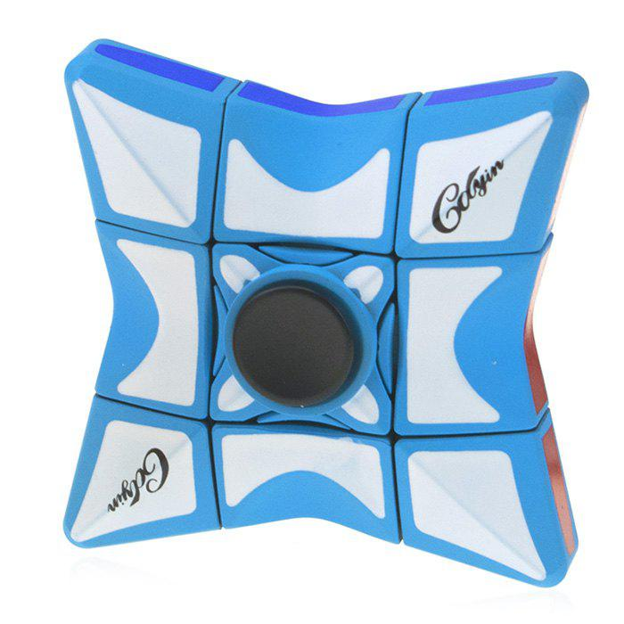 Cheap Novelty Fidget Spinner Square Concave Magic Cube Decompression Toy