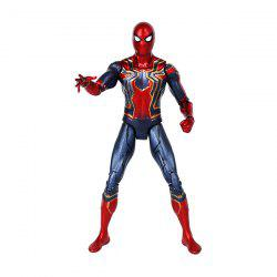 Movable Joints Movie Hero Figure Desk Ornament Toy Gift -