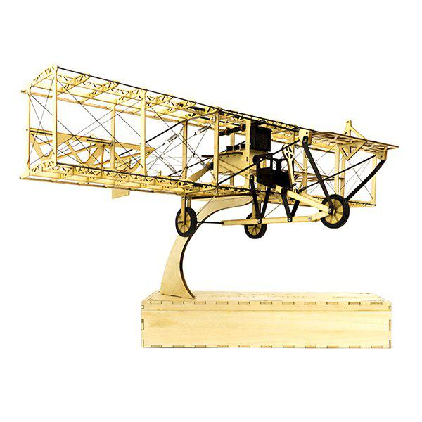Latest Dancing Wings Hobby VS12 Wooden Aircraft Toy Static Model