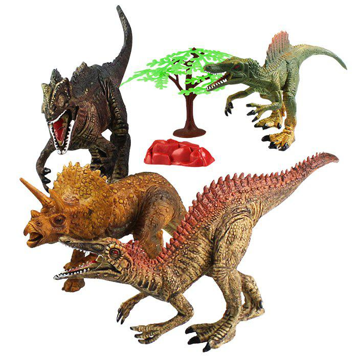 Outfits New Special Dinosaur Model Toy Table Decoration Creative Kids Gift 4pcs