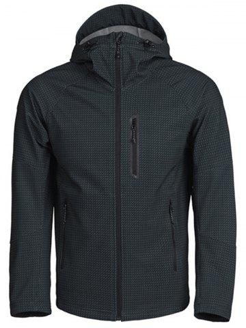 Xiaomi Combined Fabric Breathable Thermal Coat for Men - BLACK - S