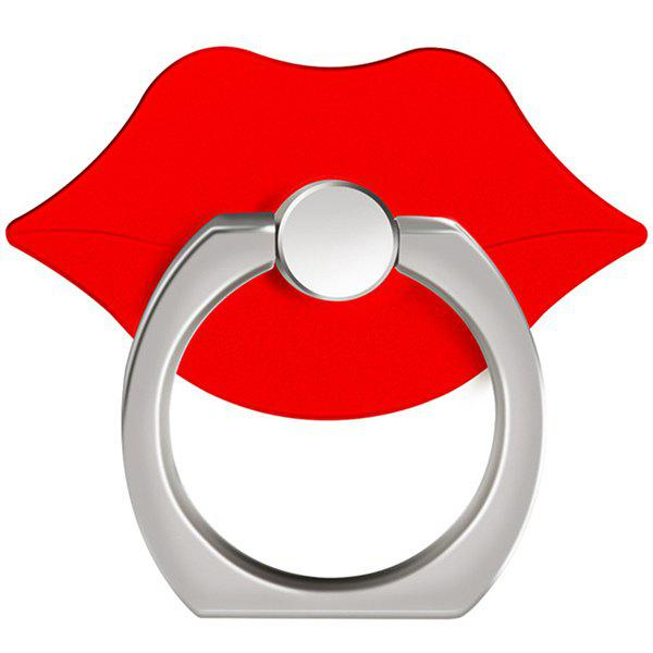 Affordable 360 Degree Rotating Cute Lip Cell Phone Finger Ring Holder Stand