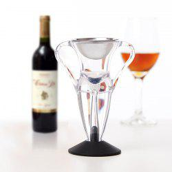 LFK - 004A Magic Fast Decanter Angel Red Wine Aerator Gift -