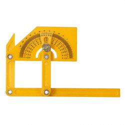 180-degree Angle Finder Plastic Ruler Flexible Calibration Protractor -