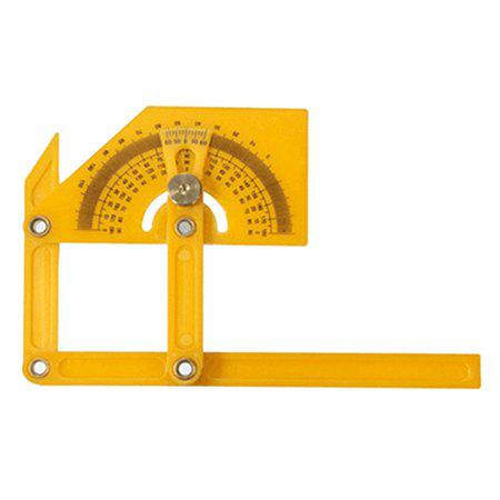 Sale 180-degree Angle Finder Plastic Ruler Flexible Calibration Protractor