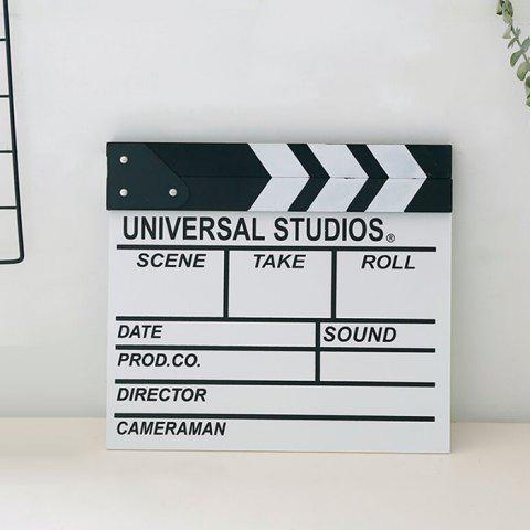 Discount Director Clapper Board Shooting Props Wood Decoration