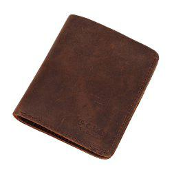 VICUNAPOLO V107 Leather Material Lightweight Men Wallet -