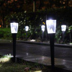 H48589 Solar Powered Path Lights 7-color Changing Lamp for Lawn Patio Yard Walkway 3PCS -