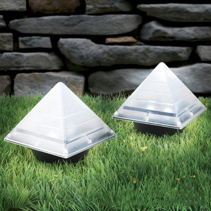 Affordable Solar Lawn Light ABS Pathway Garden Lamp Decoration 1pc