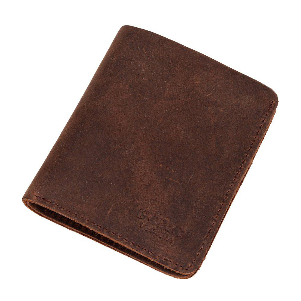 Chic VICUNAPOLO V107 Leather Material Lightweight Men Wallet