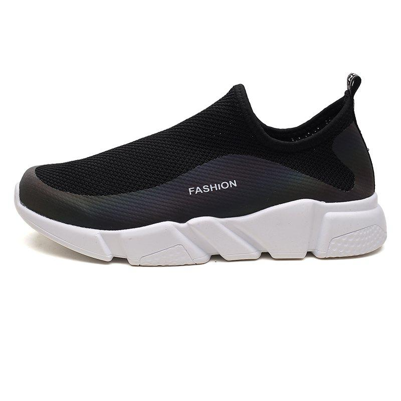 Buy Men Slip-on Breathable Casual Shoes
