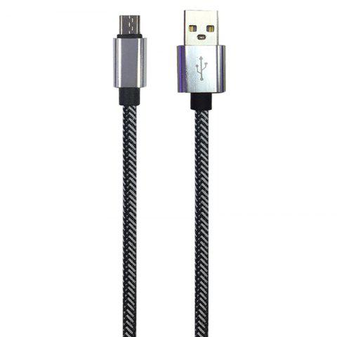 Fancy 1METER Nylon Micro USB Cable for Samsung HTC Huawei Xiaomi Android Fast Charge Wire