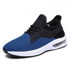 Men Chic Breathable Lace-up Sport Shoes -