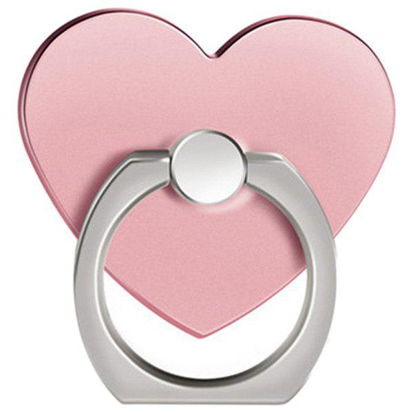 Outfit 360 Degree Rotating Heart Shape Cell Phone Finger Ring Holder Stand