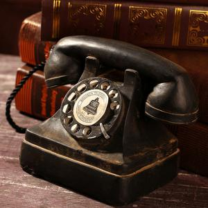 Telephone Resin Table Decoration American Vintage Style -
