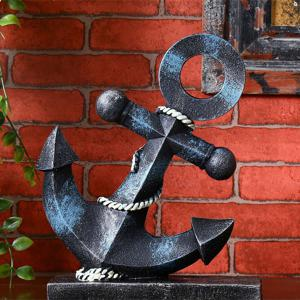 Creative Vintage Resin Marine Anchor Home Table Decoration -