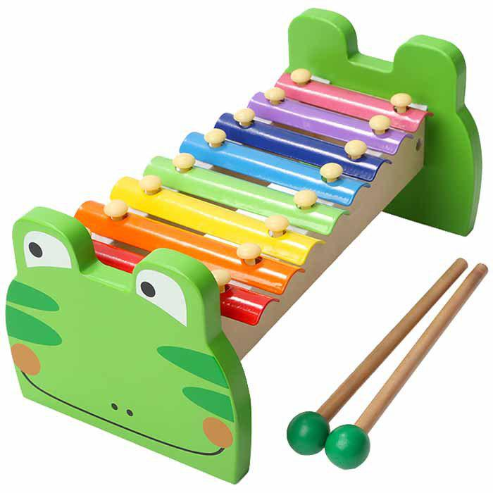 Trendy Topbright 8 Tone Glockenspiel Xylophone Piano Kids Music Toy