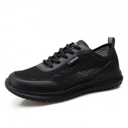 Trendy Breathable Lace-up Causal Shoes for Men -