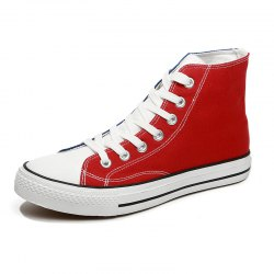 Men Fashionable Lace-up Causal Shoes -