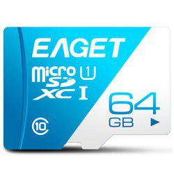 EAGET T1 Class 10 80MB/s TF Card 64GB -